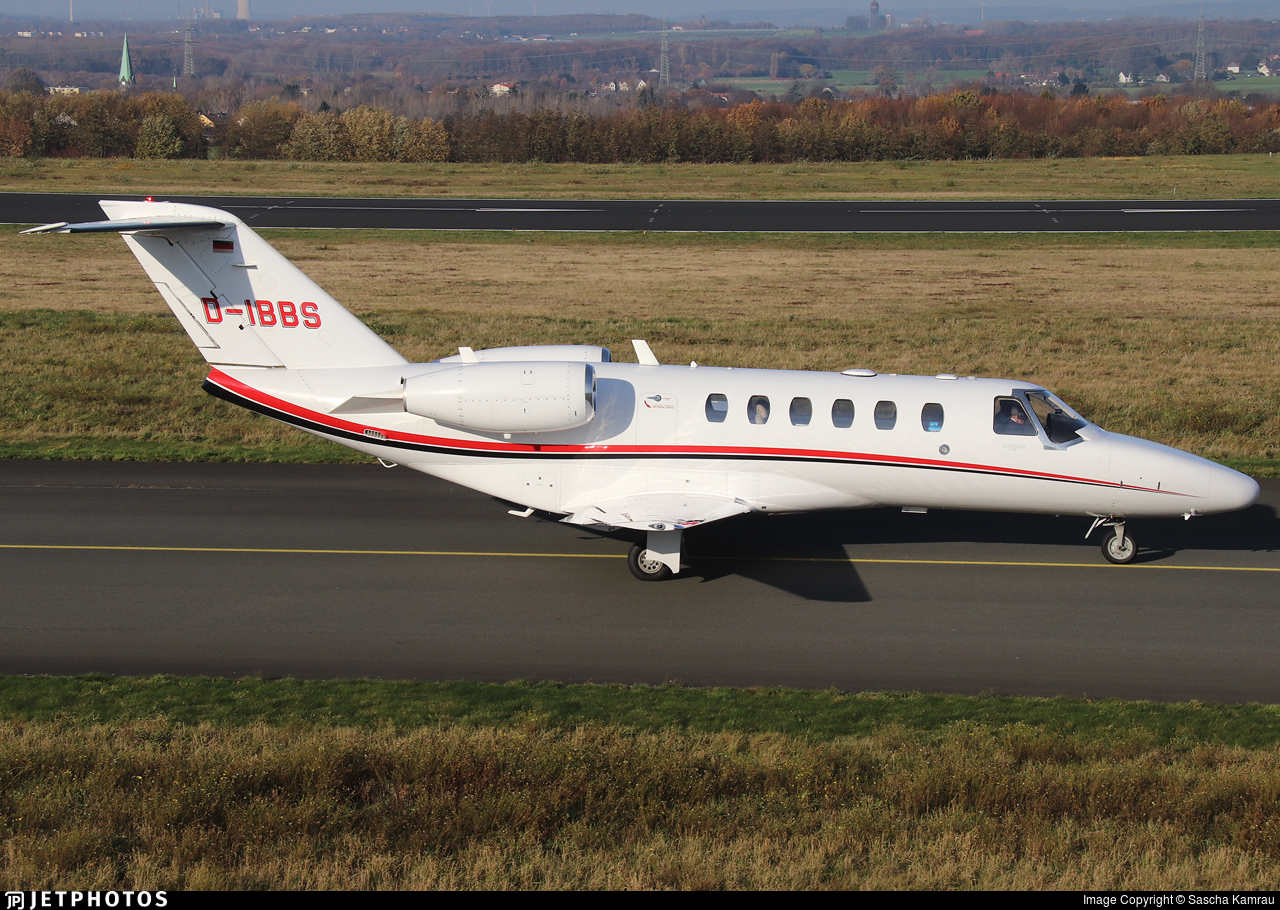 D-IBBS - Cessna 525A CitationJet 2 - Private