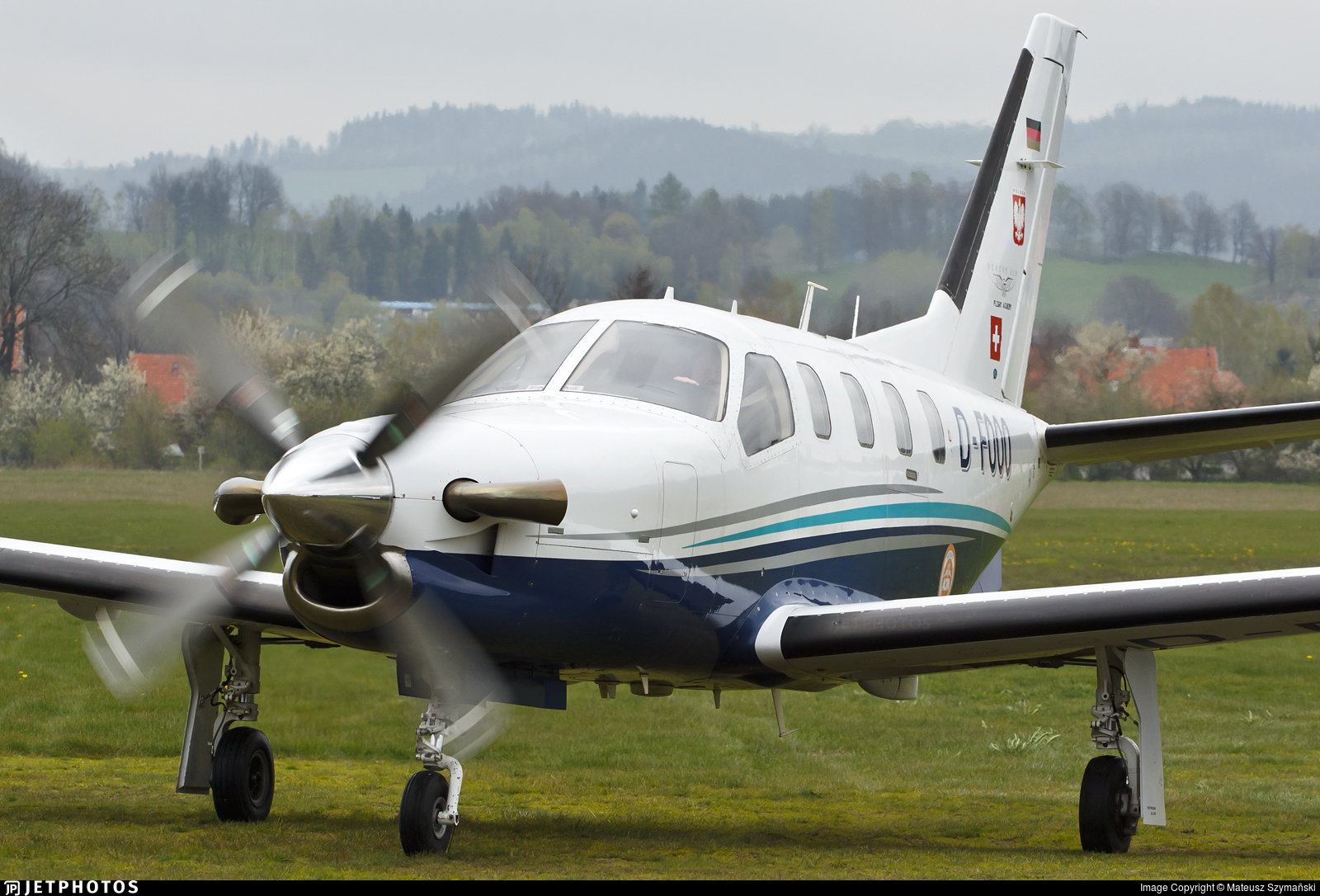 D-FOOO - Socata TBM-700 - Private