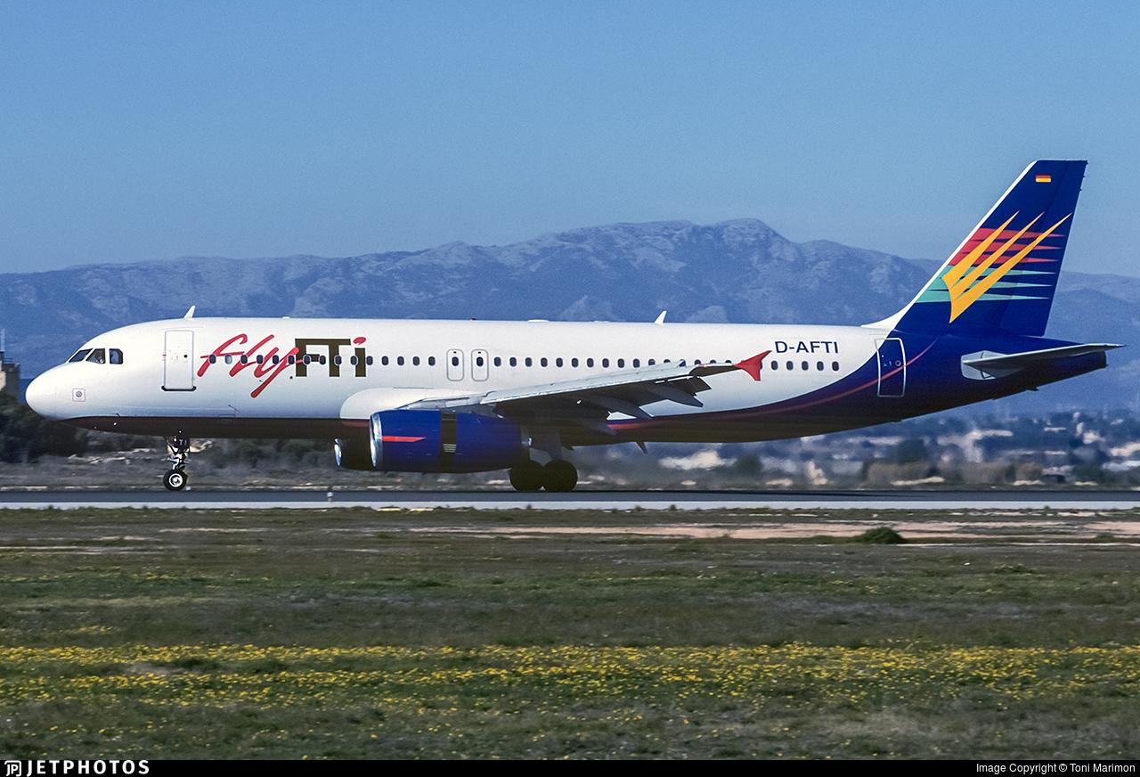 D-AFTI - Airbus A320-231 - flyFTI