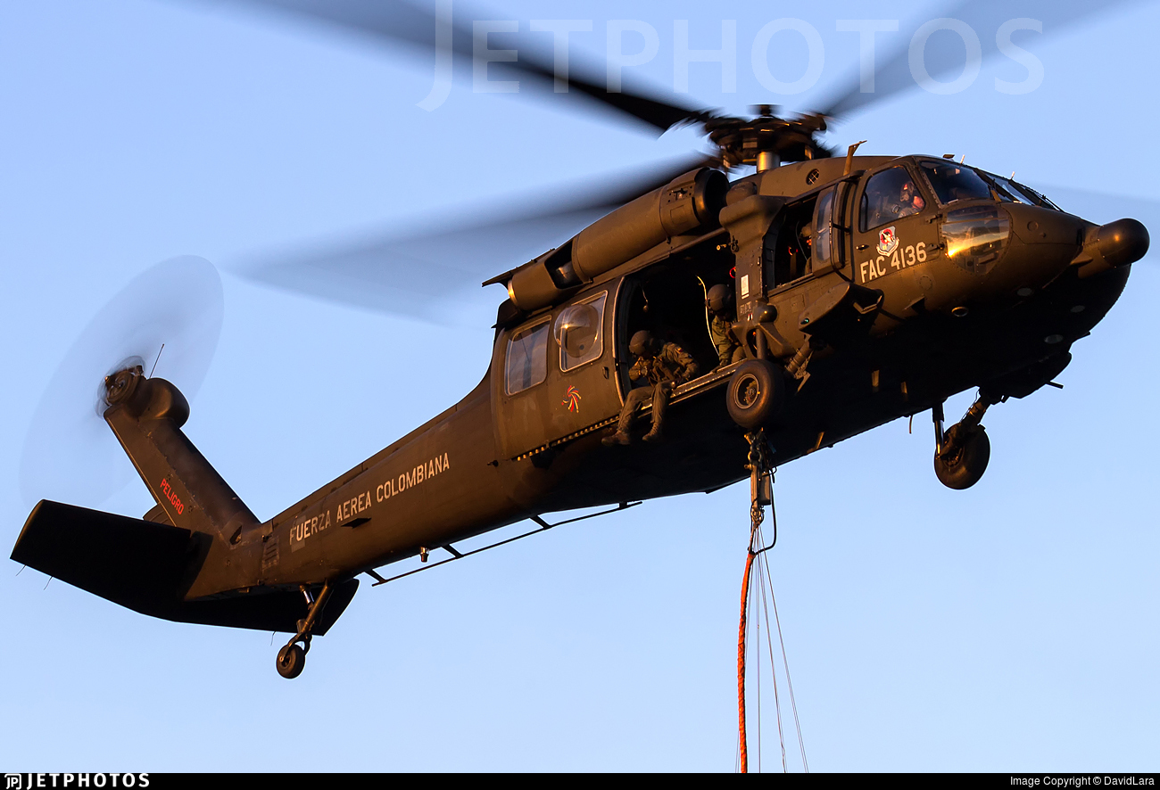FAC4136 - Sikorsky UH-60L Blackhawk - Colombia - Air Force