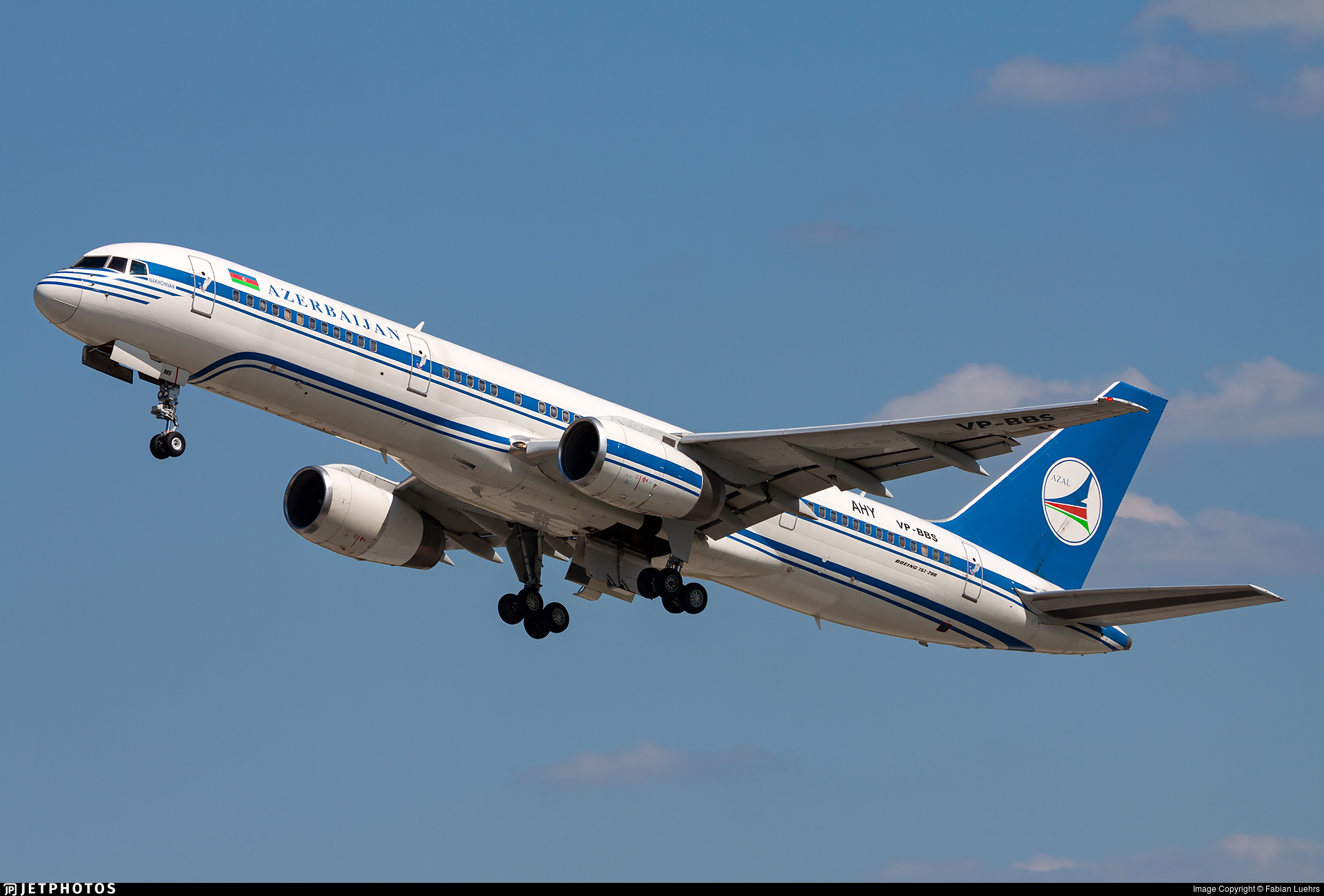 VP-BBS - Boeing 757-22L - AZAL Azerbaijan Airlines