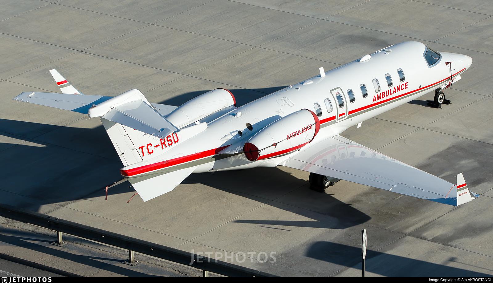 TC-RSD - Bombardier Learjet 45 - Redstar Aviation