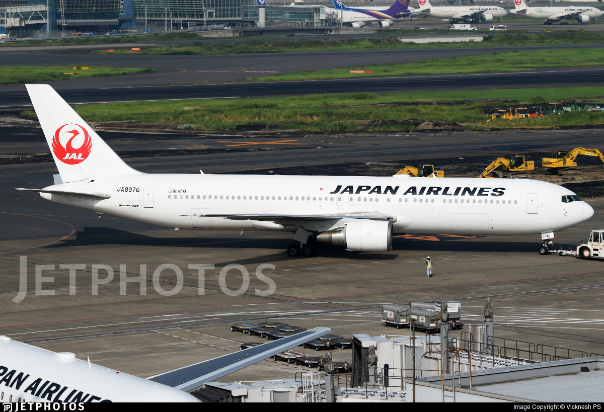 JA8976 - Boeing 767-346 - Japan Airlines (JAL)