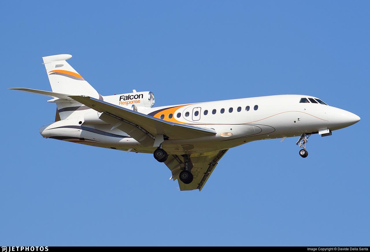 F-GOFX - Dassault Falcon 900B - Dassault Aviation