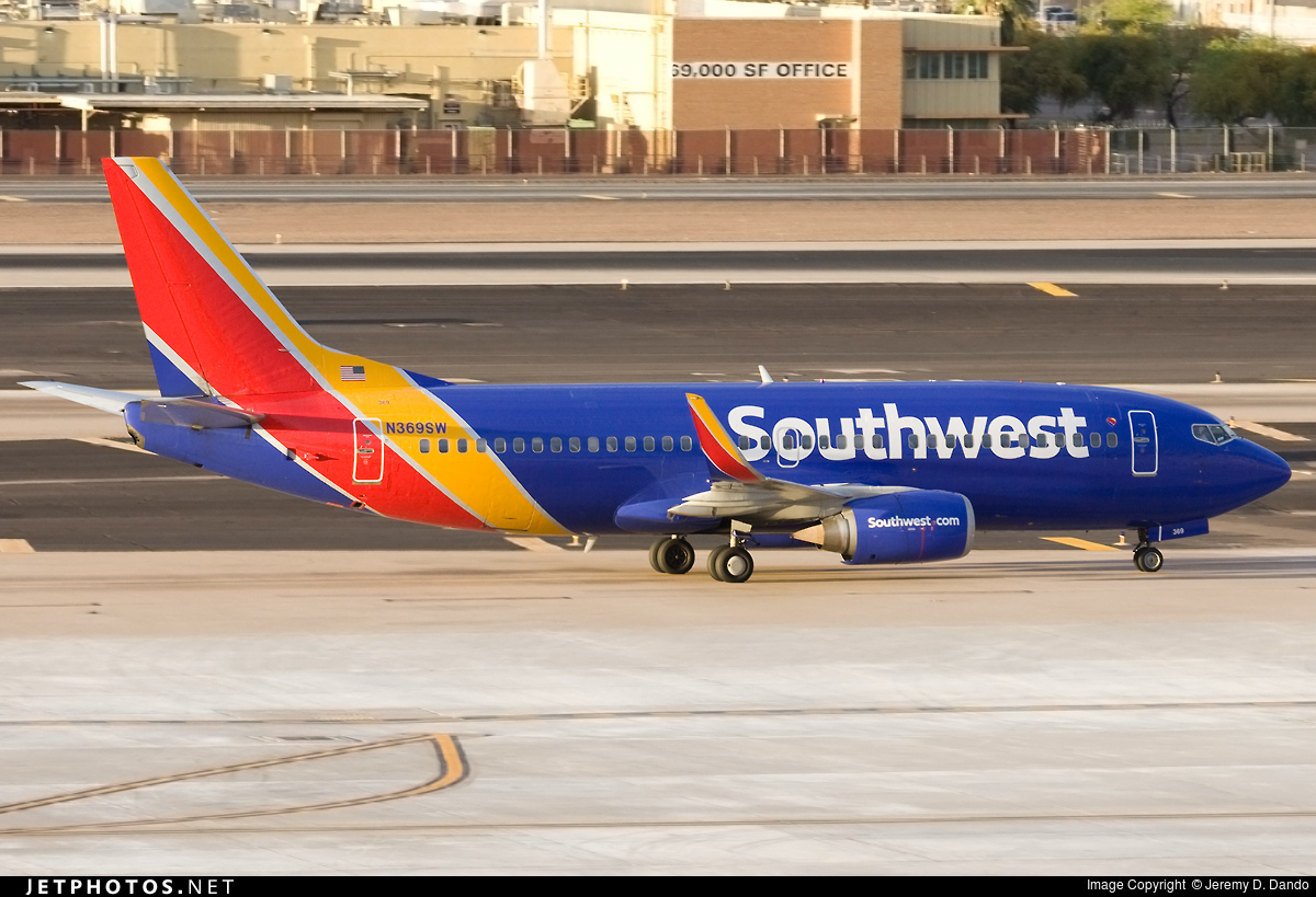 N369SW - Boeing 737-3H4 - Southwest Airlines
