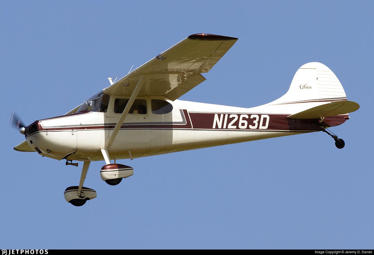 N1263D - Cessna 170A - Private