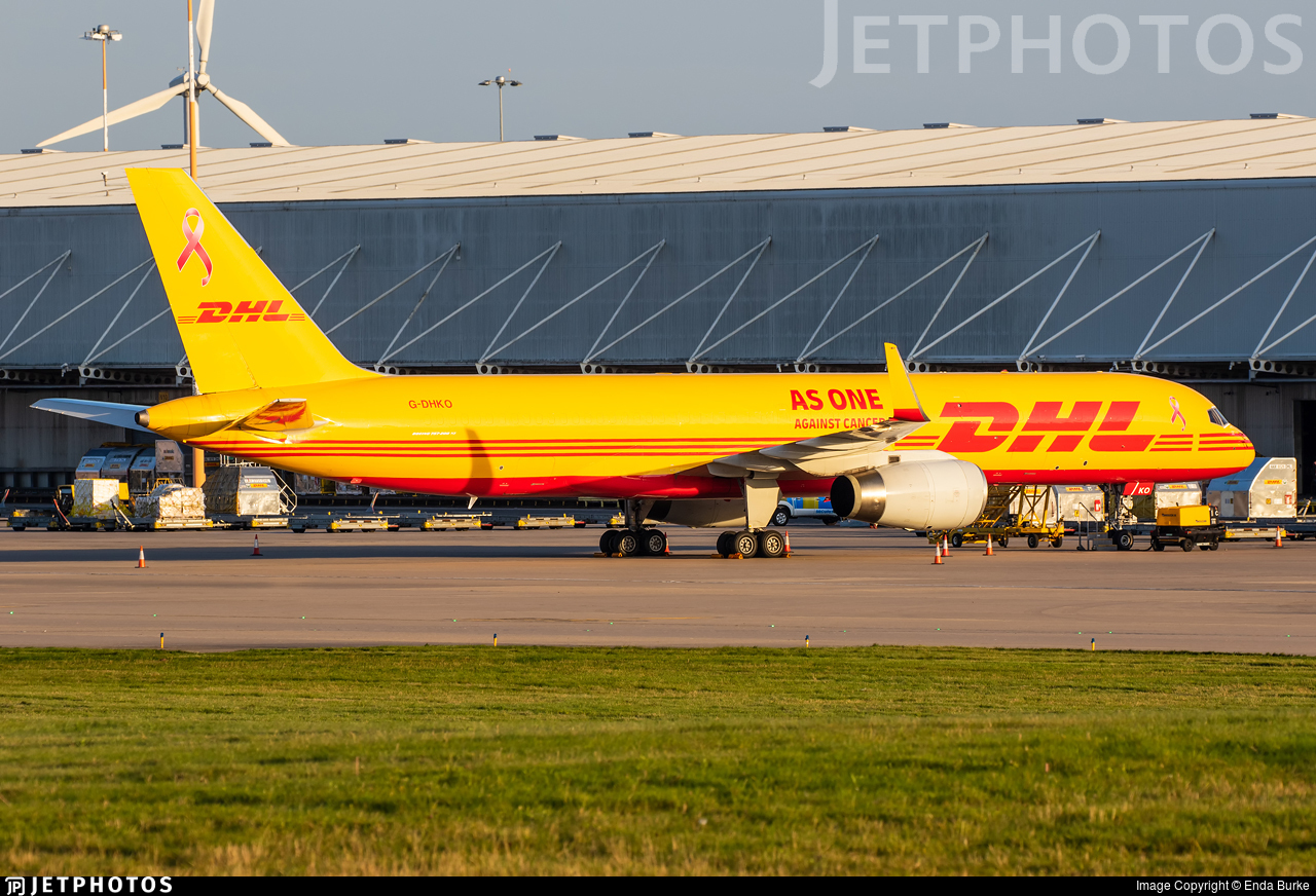 G-DHKO - Boeing 757-223(PCF) - DHL Air