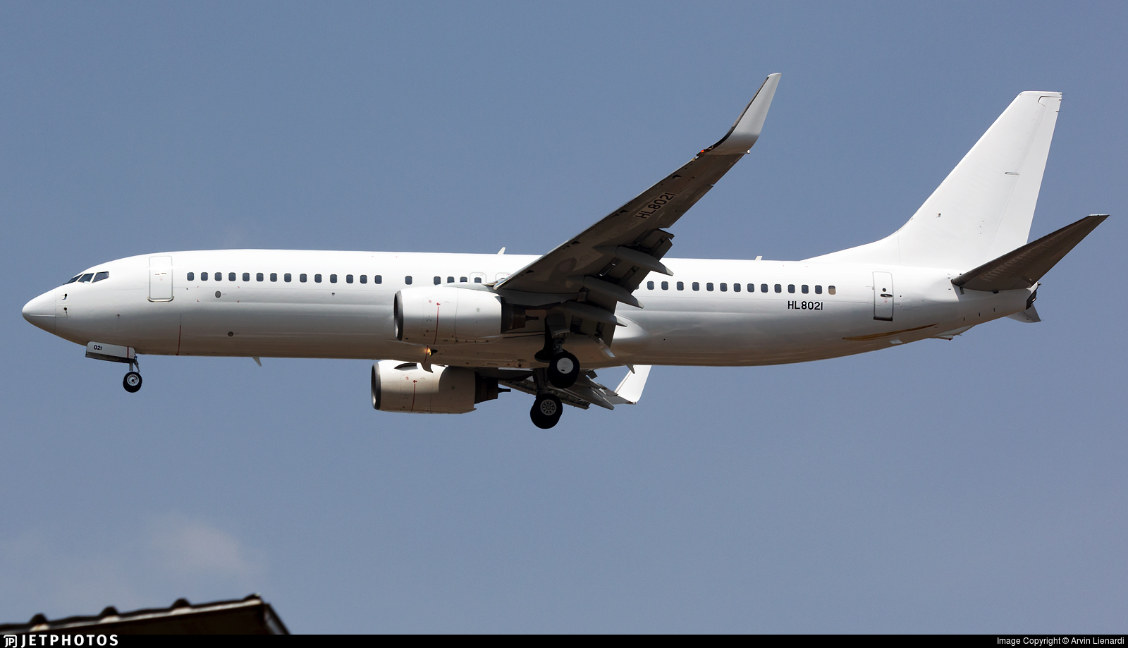 HL8021 - Boeing 737-8GJ - Untitled