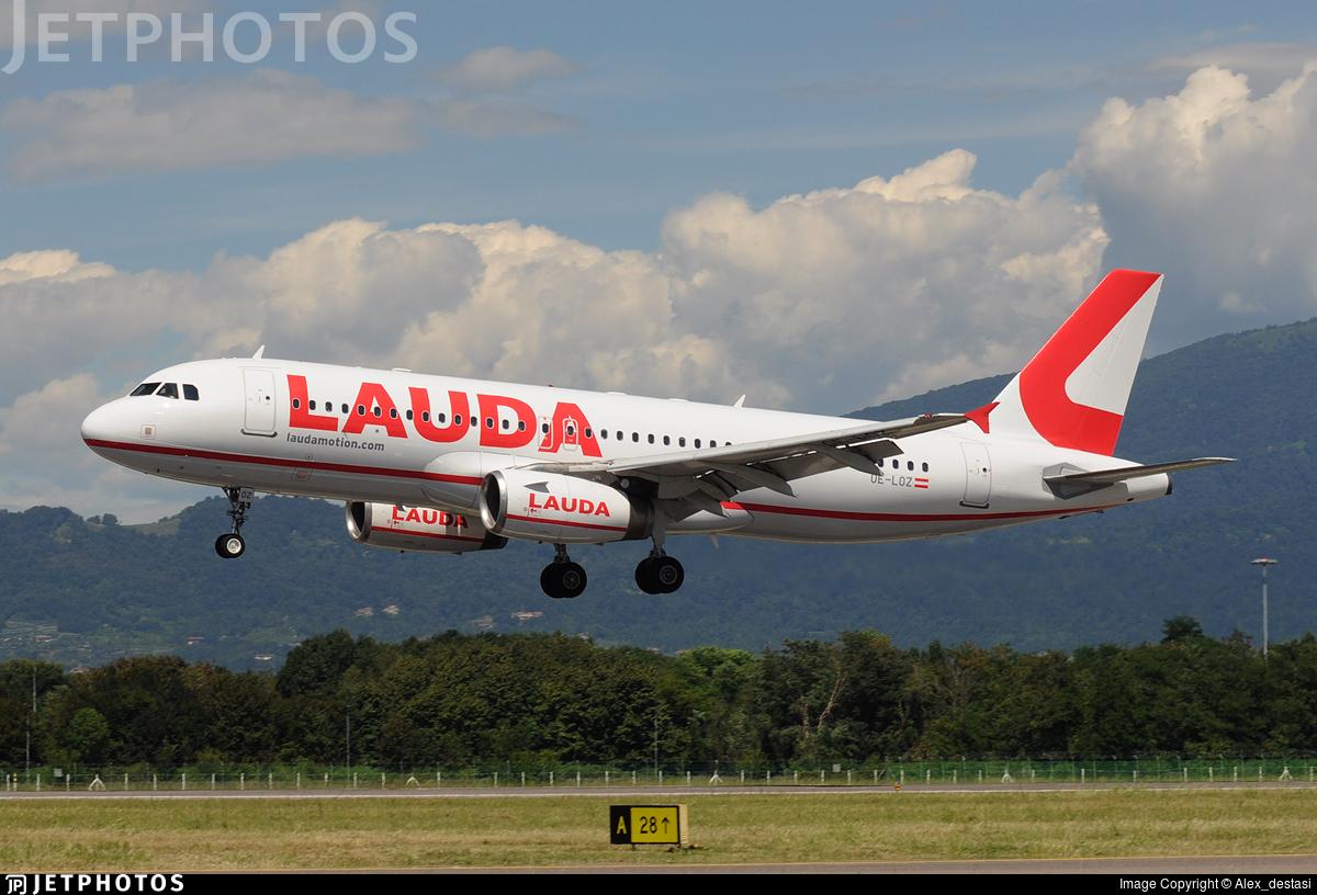 OE-LOZ - Airbus A320-232 - LaudaMotion