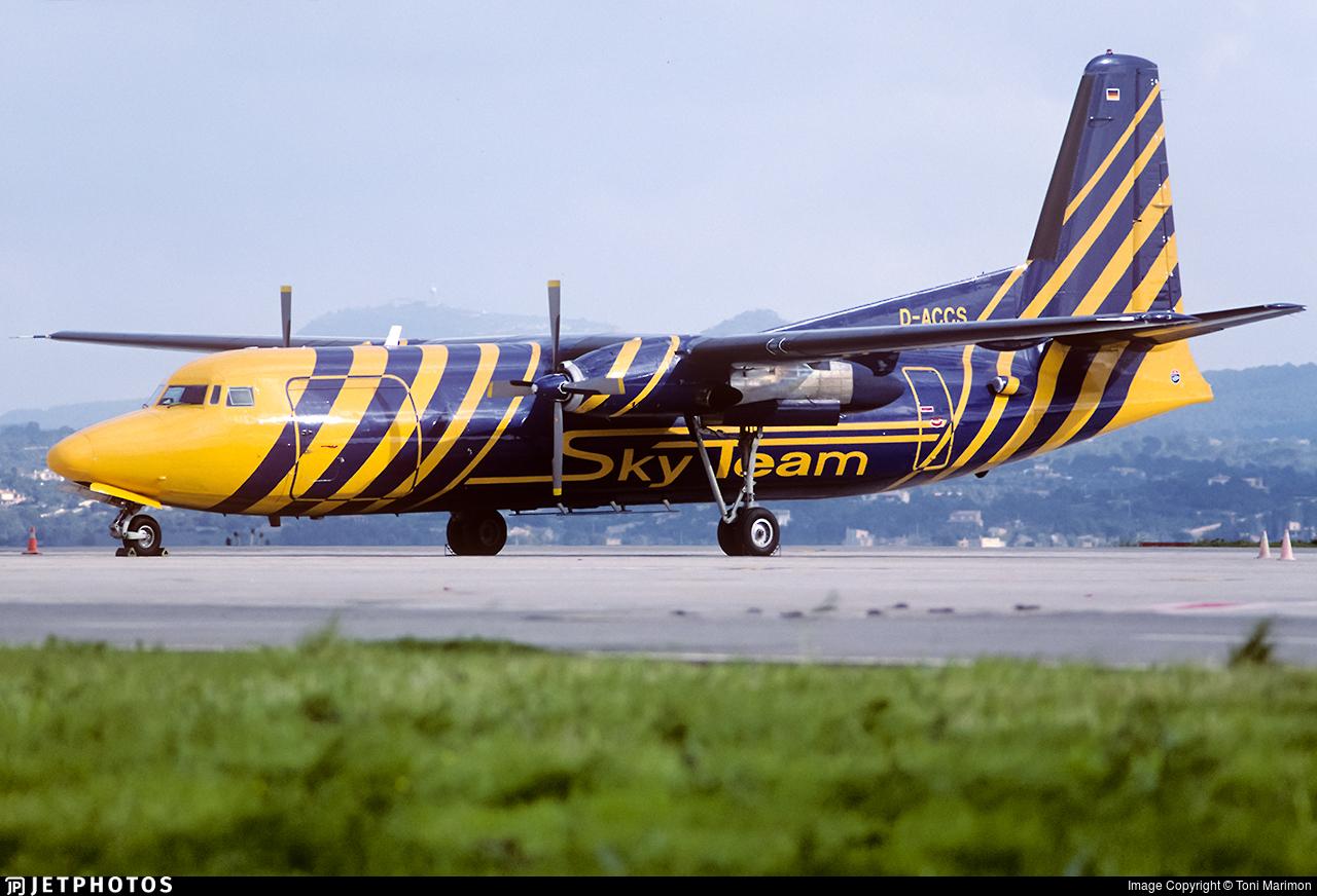D-ACCS - Fokker F27-500F Friendship - Skyteam