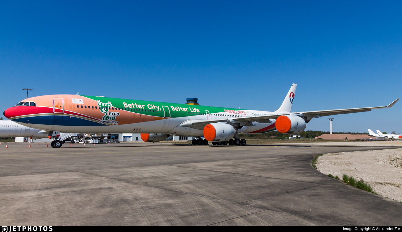 B-6055 - Airbus A340-642 - China Eastern Airlines