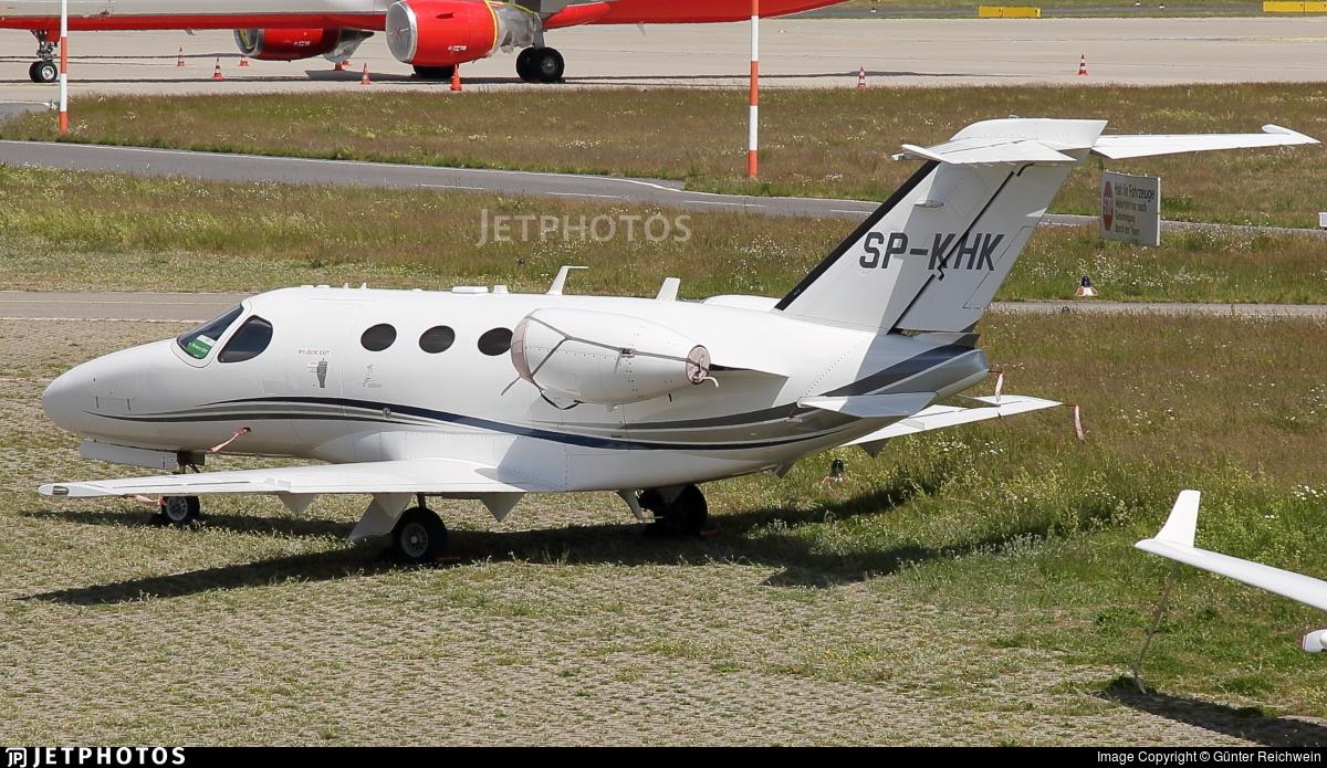 SP-KHK - Cessna 510 Citation Mustang - Private
