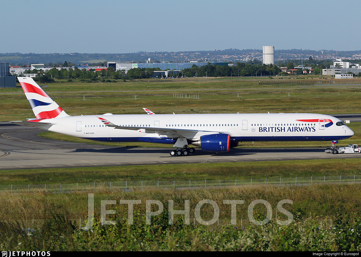 F-WZFH - Airbus A350-1041 - British Airways