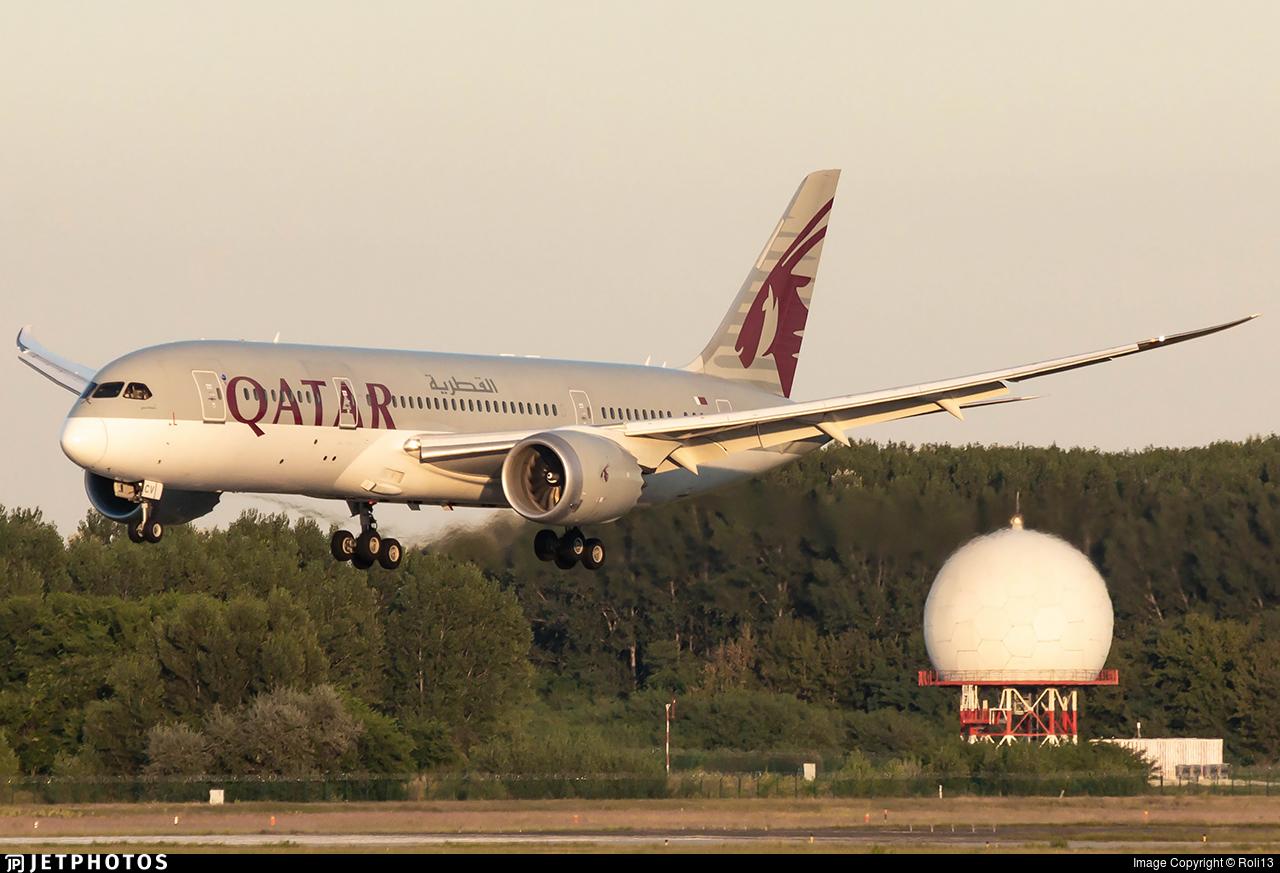 A7-BCV - Boeing 787-8 Dreamliner - Qatar Airways