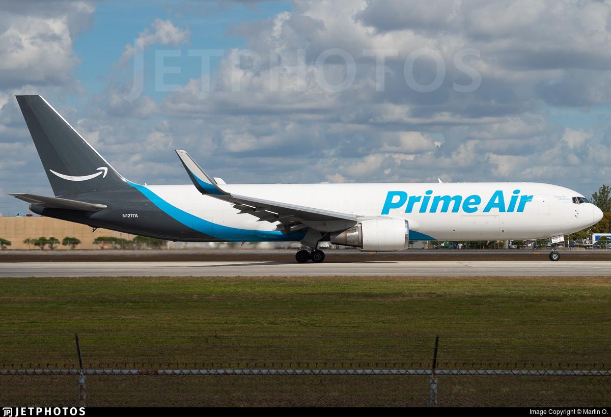 N1217A - Boeing 767-375(ER)(BCF) - Amazon Prime Air (Atlas Air)