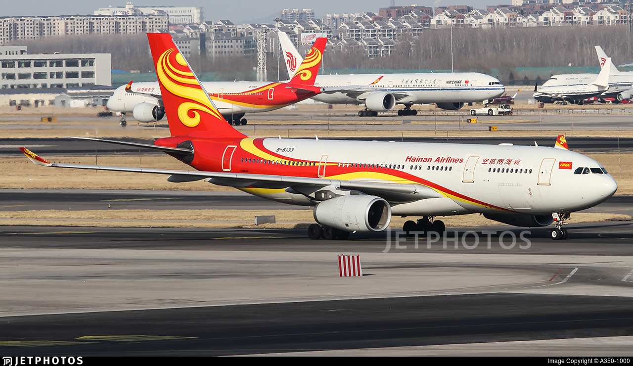 B-6133 - Airbus A330-243 - Hainan Airlines