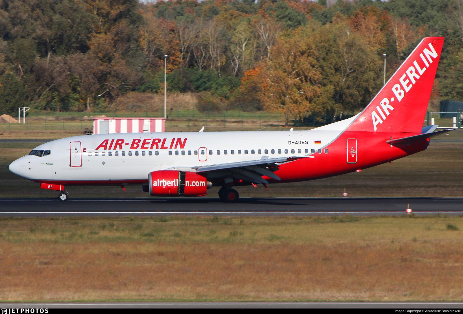 D-AGES - Boeing 737-75B - Air Berlin (Germania)