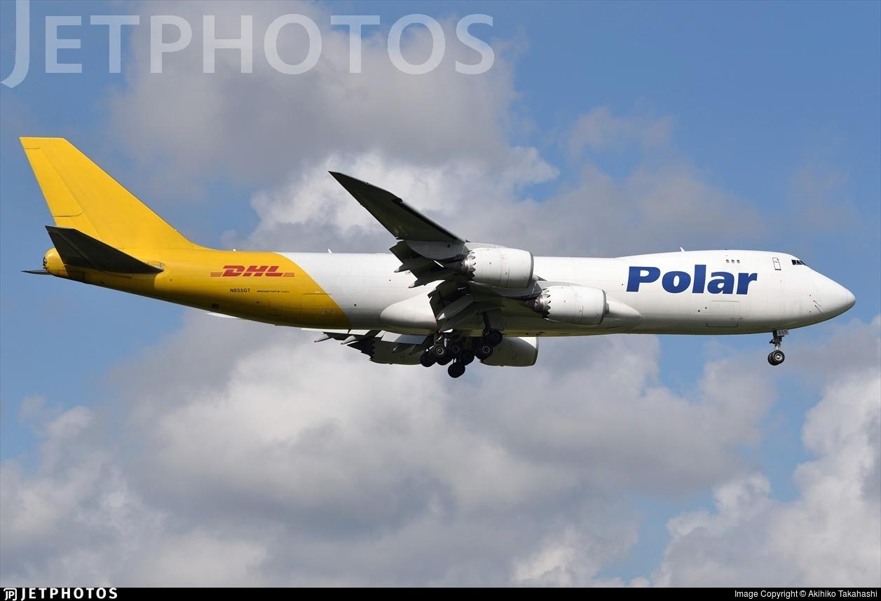 N855GT - Boeing 747-87UF - Polar Air Cargo
