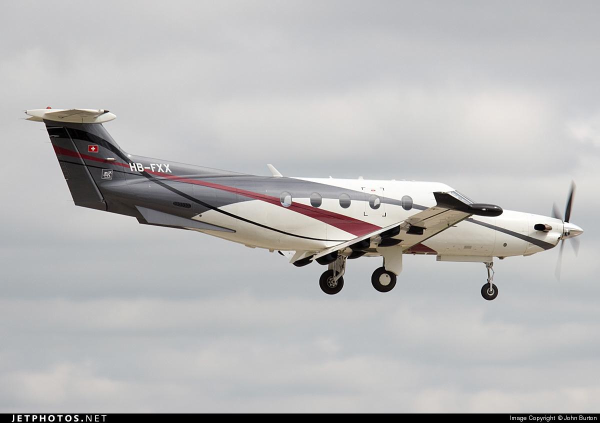 HB-FXX - Pilatus PC-12/47 - FLY 7 Executive Aviation