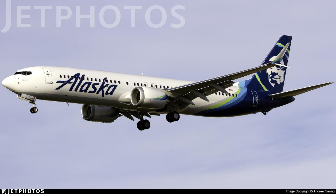 N913AK - Boeing 737-9 MAX - Alaska Airlines