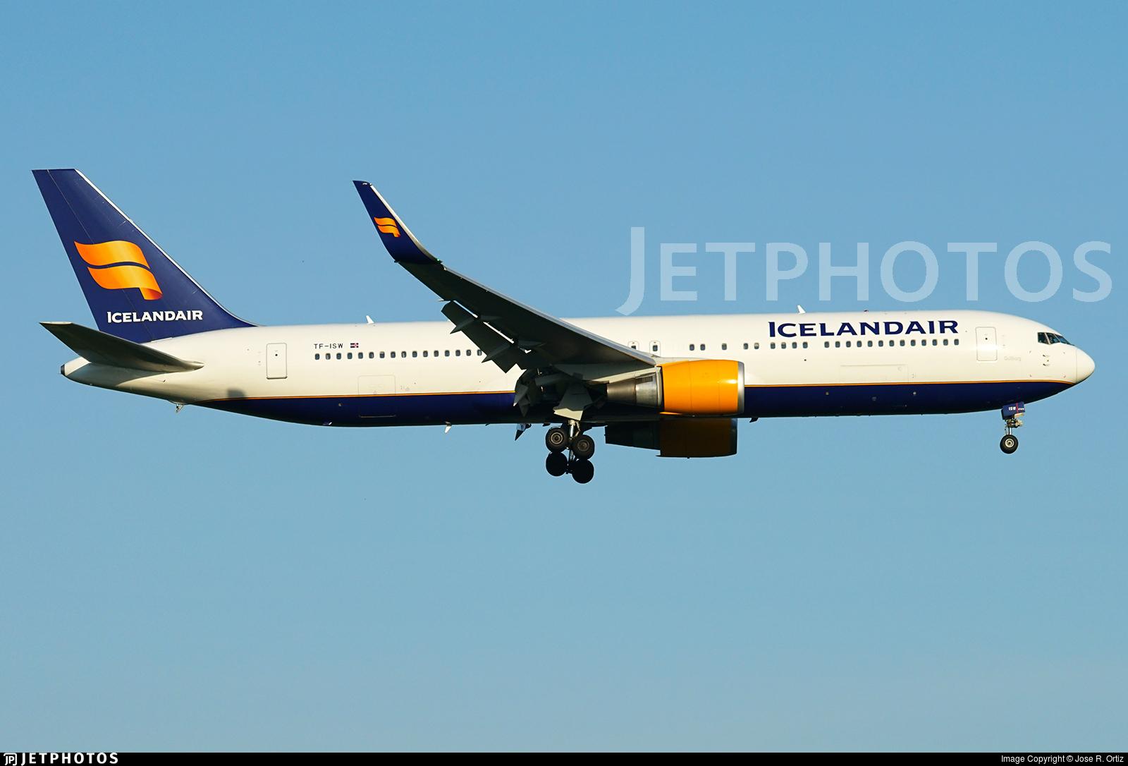 TF-ISW - Boeing 767-319(ER) - Icelandair