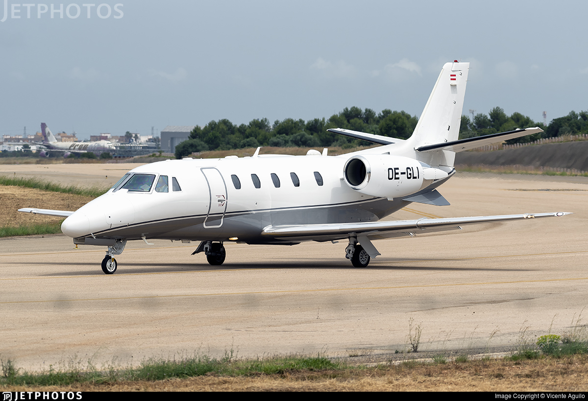 OE-GLI - Cessna 560XL Citation XLS+ - Avcon Jet
