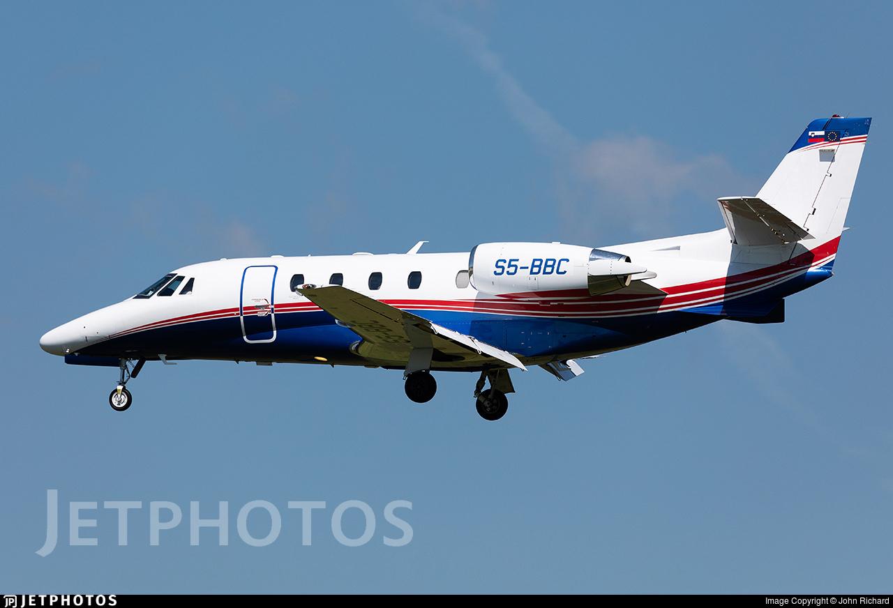 S5-BBC - Cessna 560XL Citation XLS+ - Private