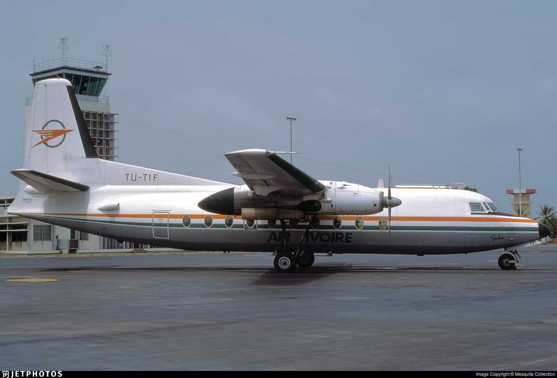 TU-TIF - Fokker F27-600 Friendship - Air Ivoire