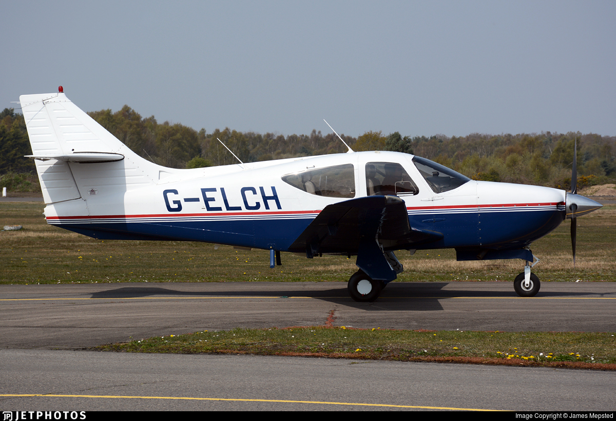 G-ELCH - Rockwell Commander 114B - Private
