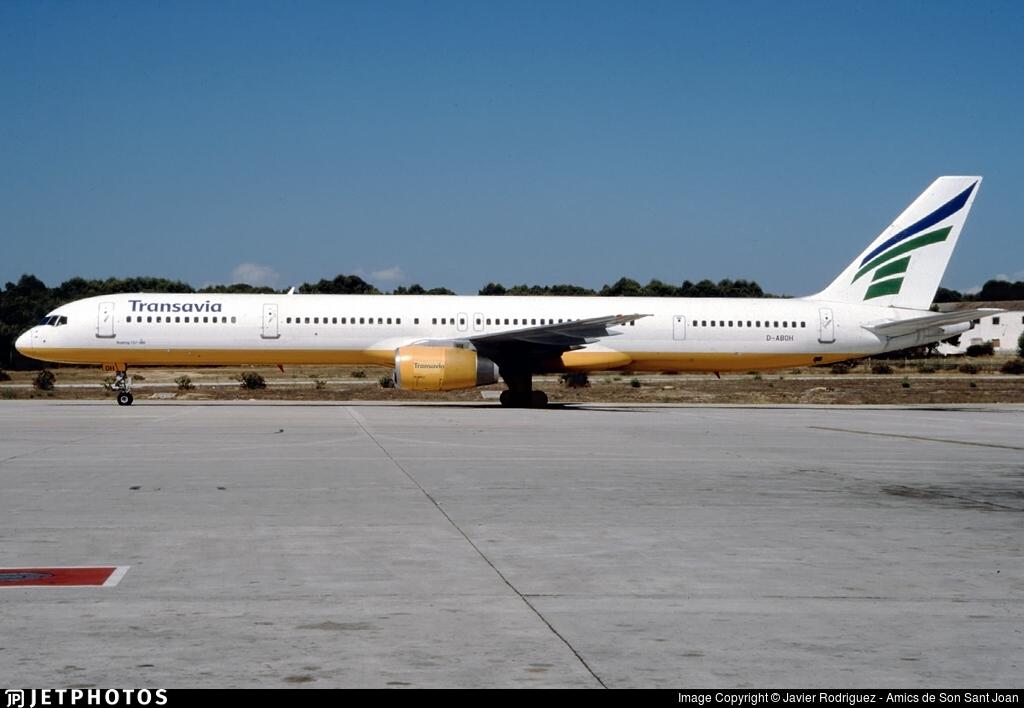 D-ABOH - Boeing 757-330 - Transavia Airlines