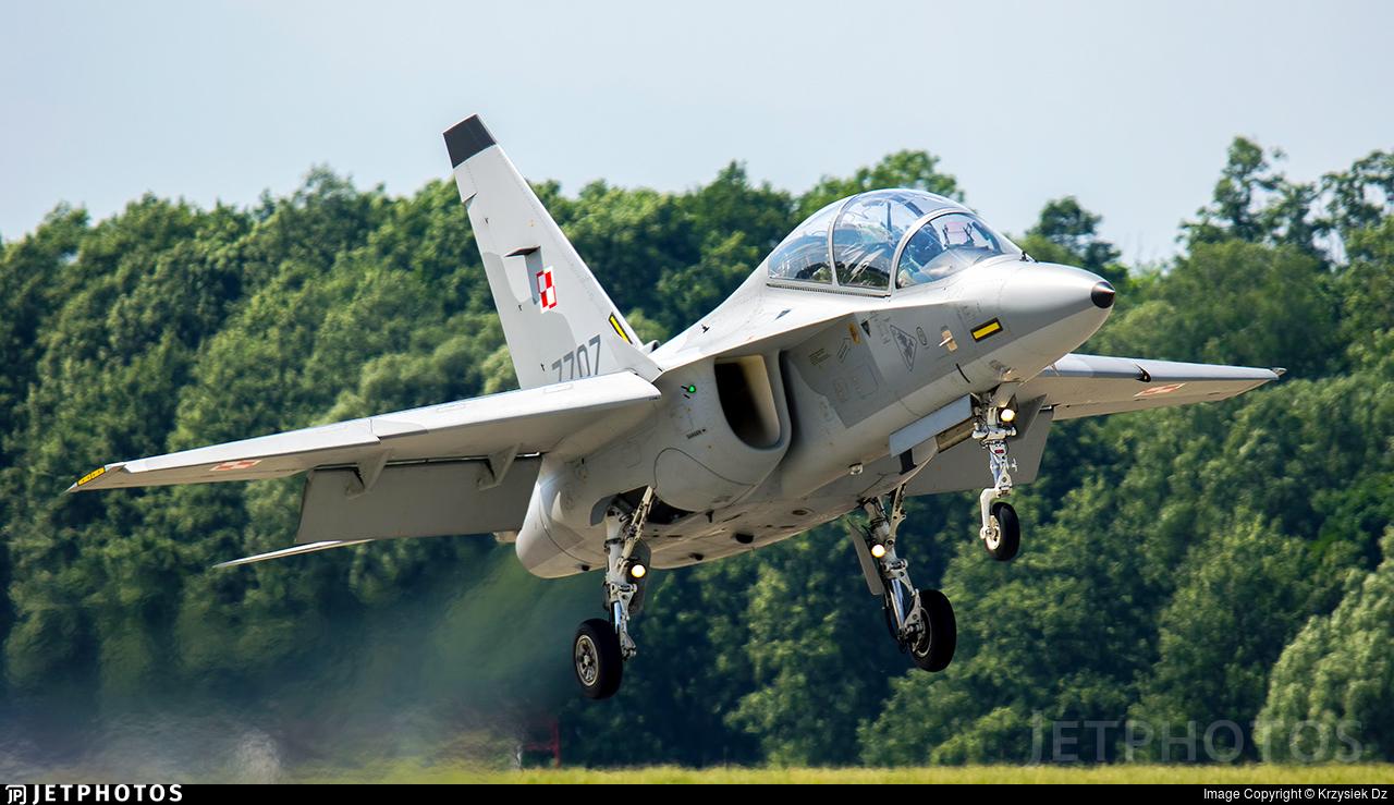 7707 - Alenia Aermacchi M-346 Master - Poland - Air Force