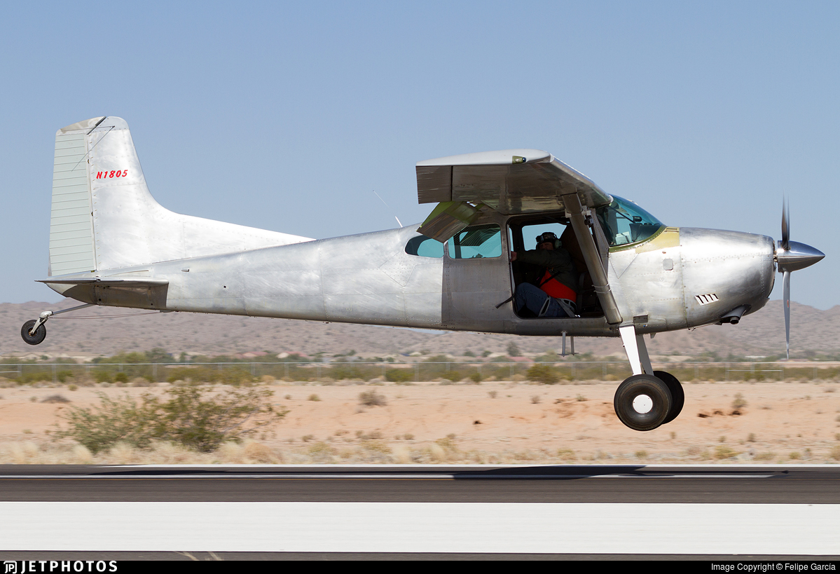 N1805 - Cessna A185E Skywagon - Private