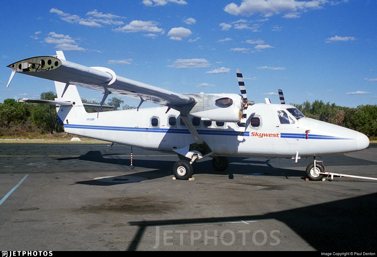 VH-USW - De Havilland Canada DHC-6-300 Twin Otter - Skywest Aviation