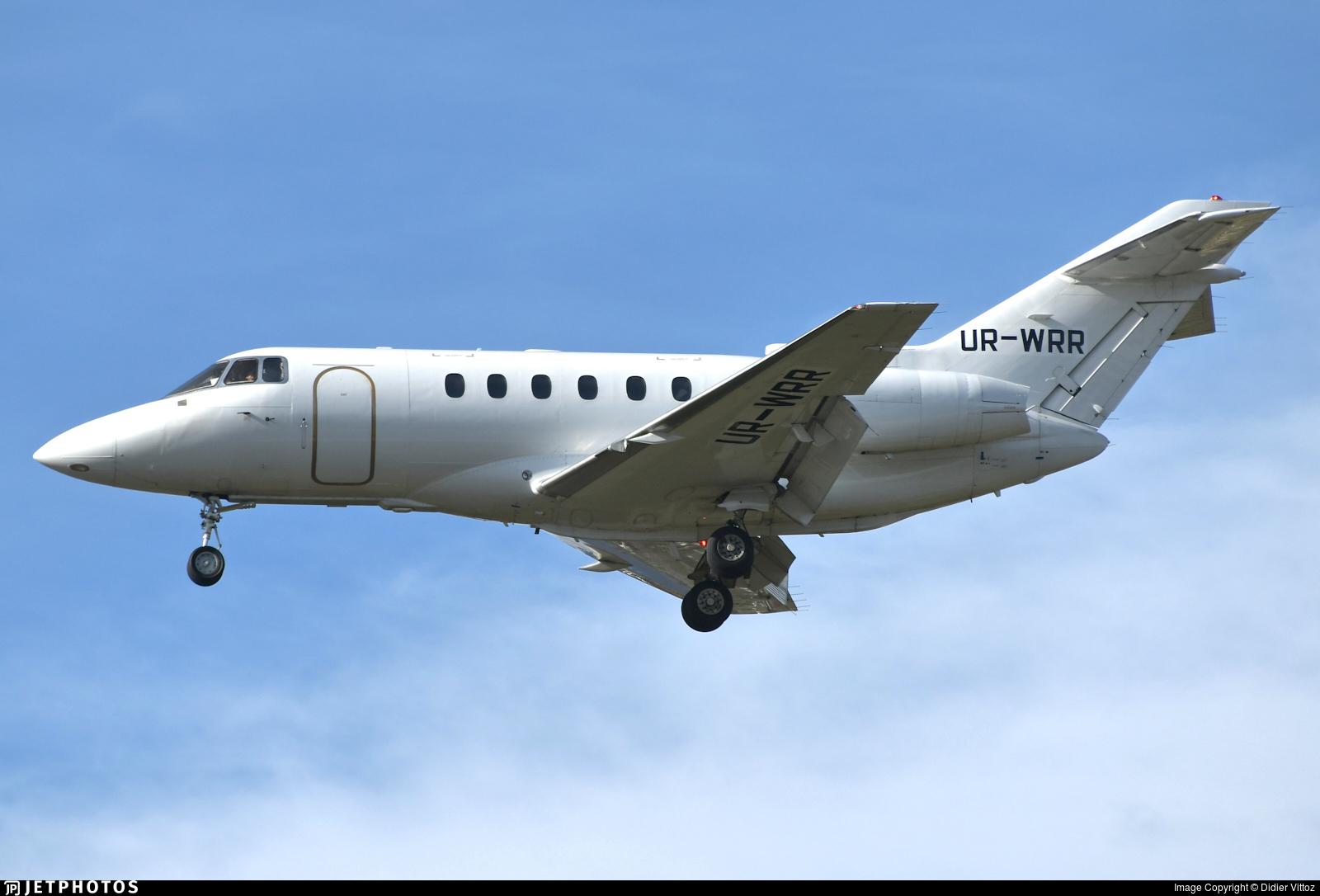 UR-WRR - Raytheon Hawker 800XP - Windrose Air