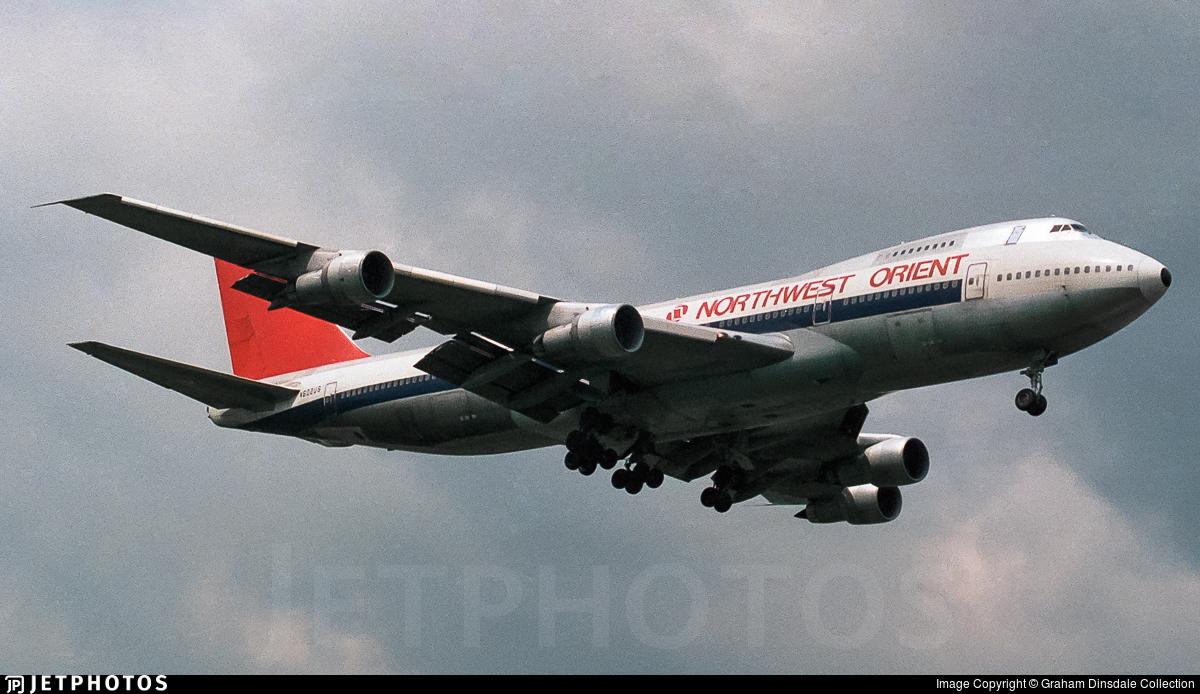 N602US - Boeing 747-151 - Northwest Orient Airlines
