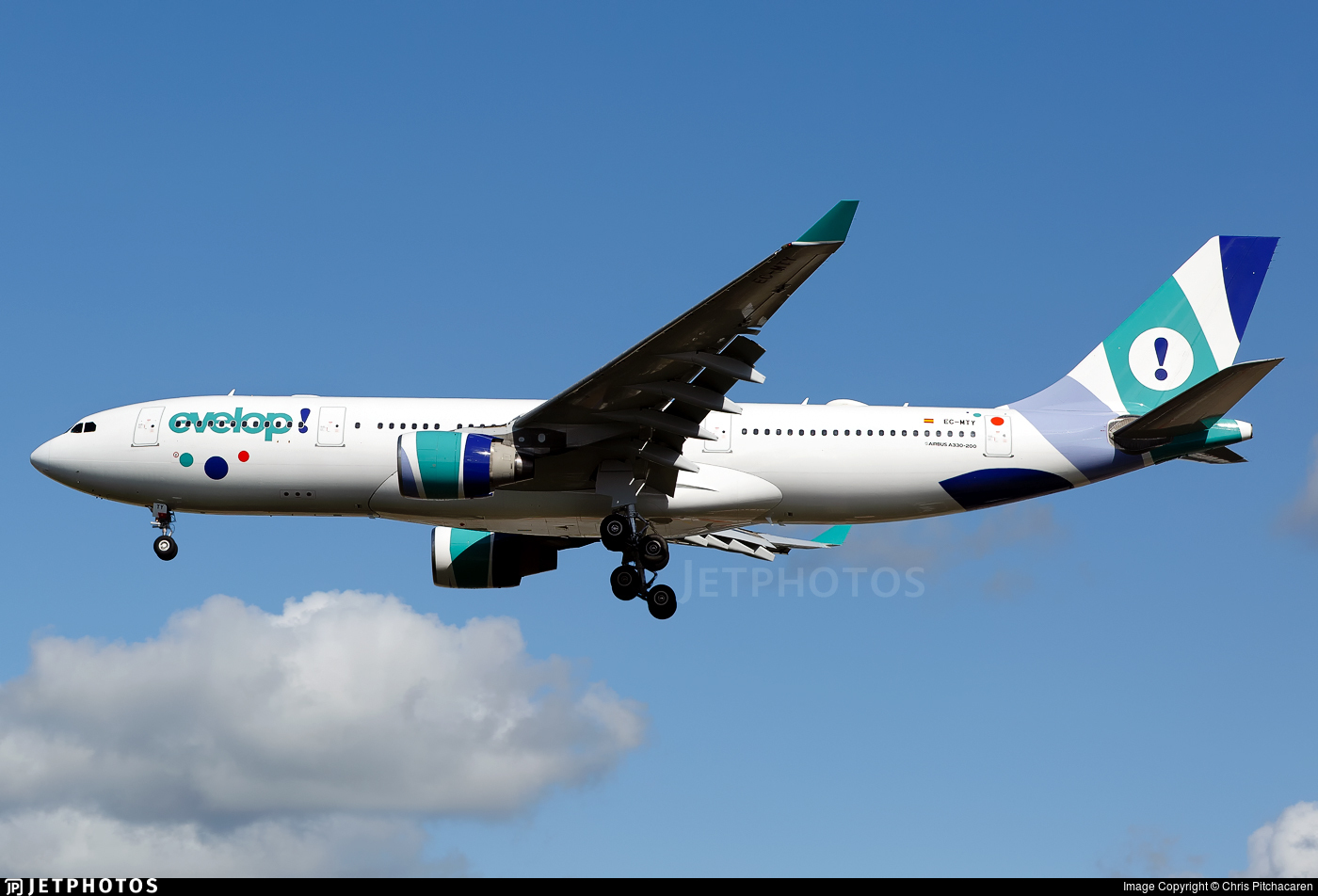 EC-MTY - Airbus A330-223 - Evelop Airlines