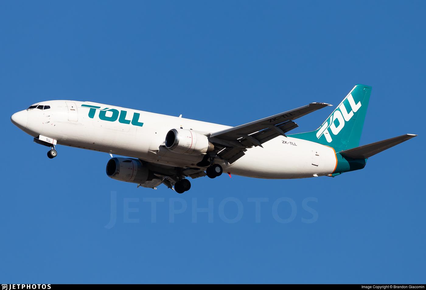 ZK-TLL - Boeing 737-484(SF) - Airwork New Zealand