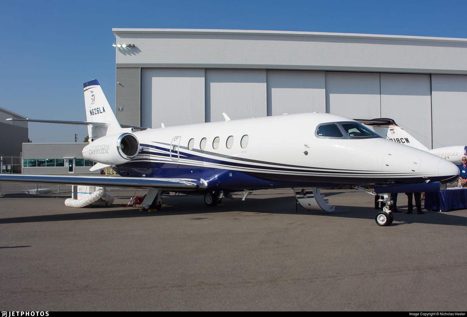 N626LA | Cessna Citation Latitude | Textron Aviation | Nicholas