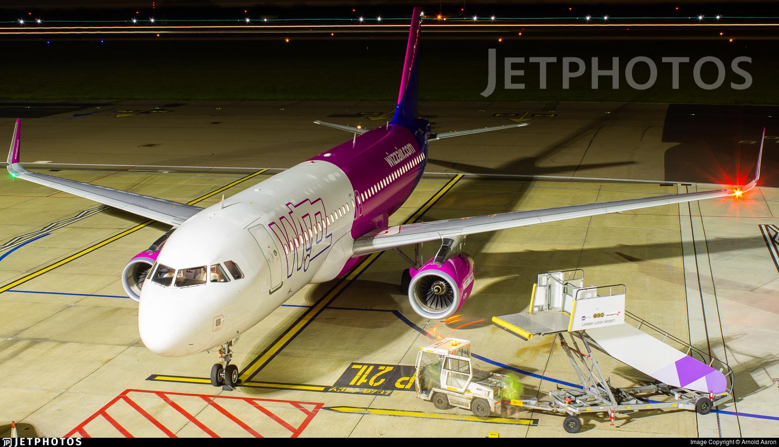 G-WUKD - Airbus A320-232 - Wizz Air UK