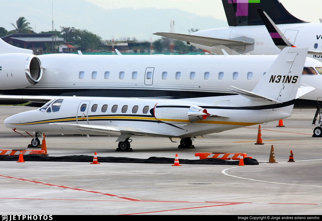 N31NS - Cessna 550 Citation II - Private