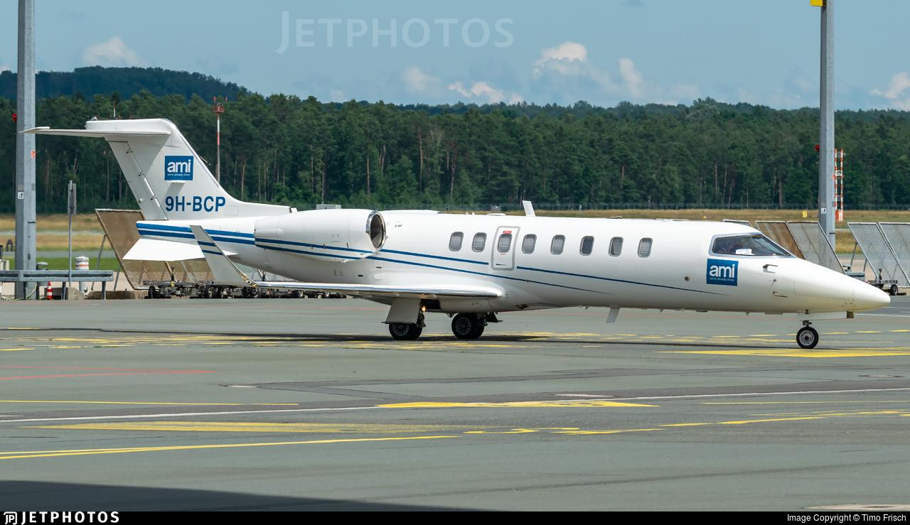 9H-BCP - Bombardier Learjet 45 - Air CM Global
