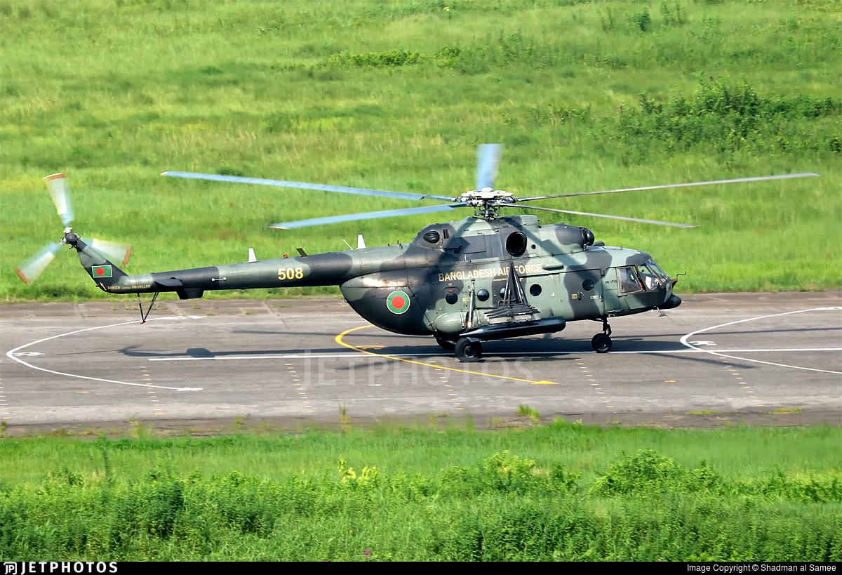 508 - Mil Mi-171Sh Baikal - Bangladesh - Air Force