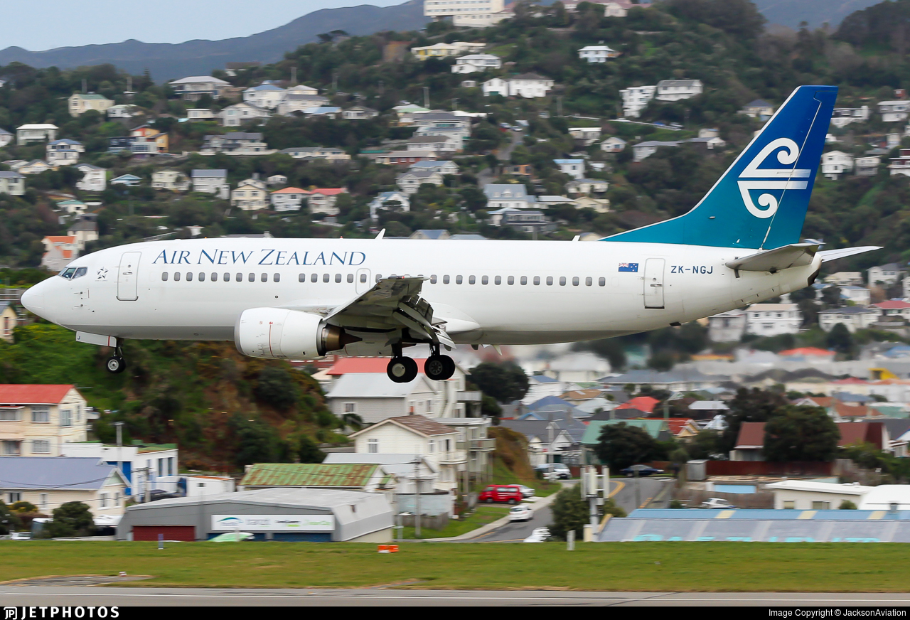 ZK-NGJ - Boeing 737-319 - Air New Zealand