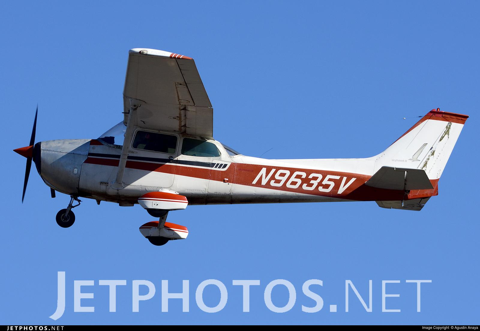 N9635V - Cessna 172M Skyhawk II - Private