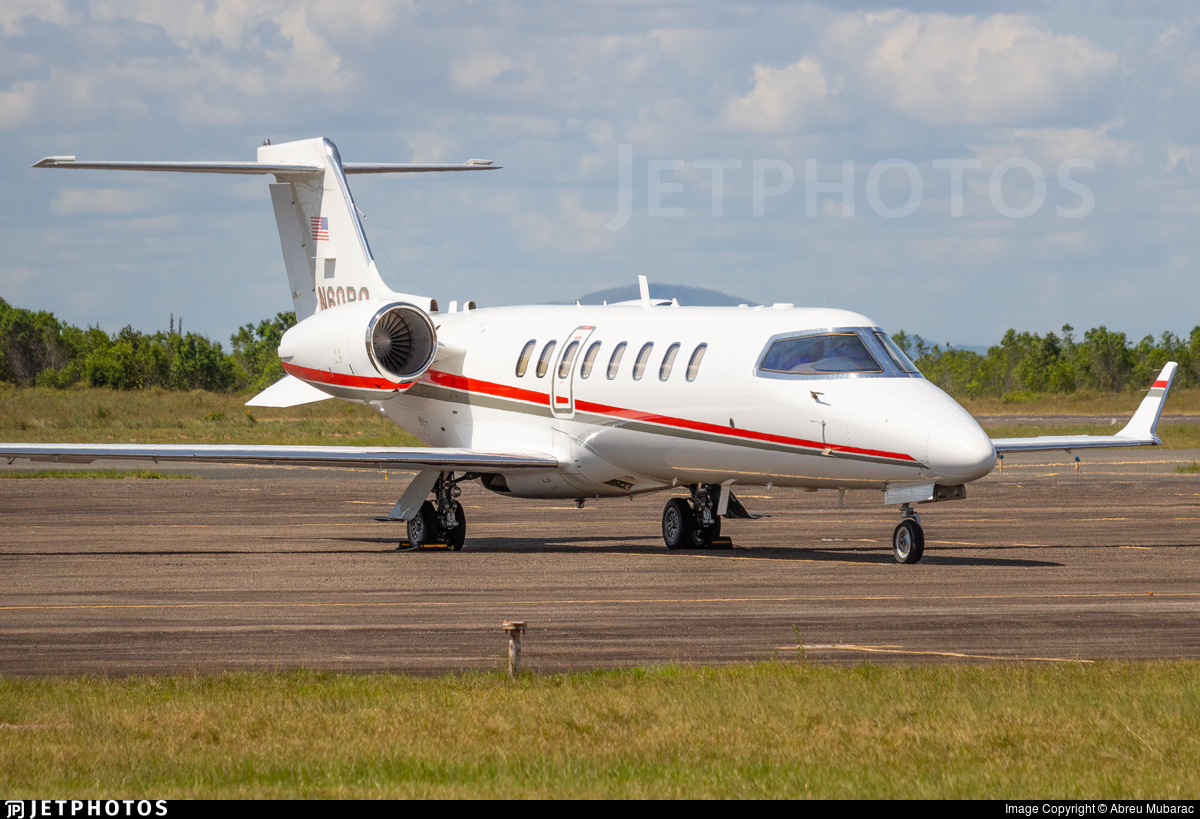 N60PQ - Bombardier Learjet 75 - Private