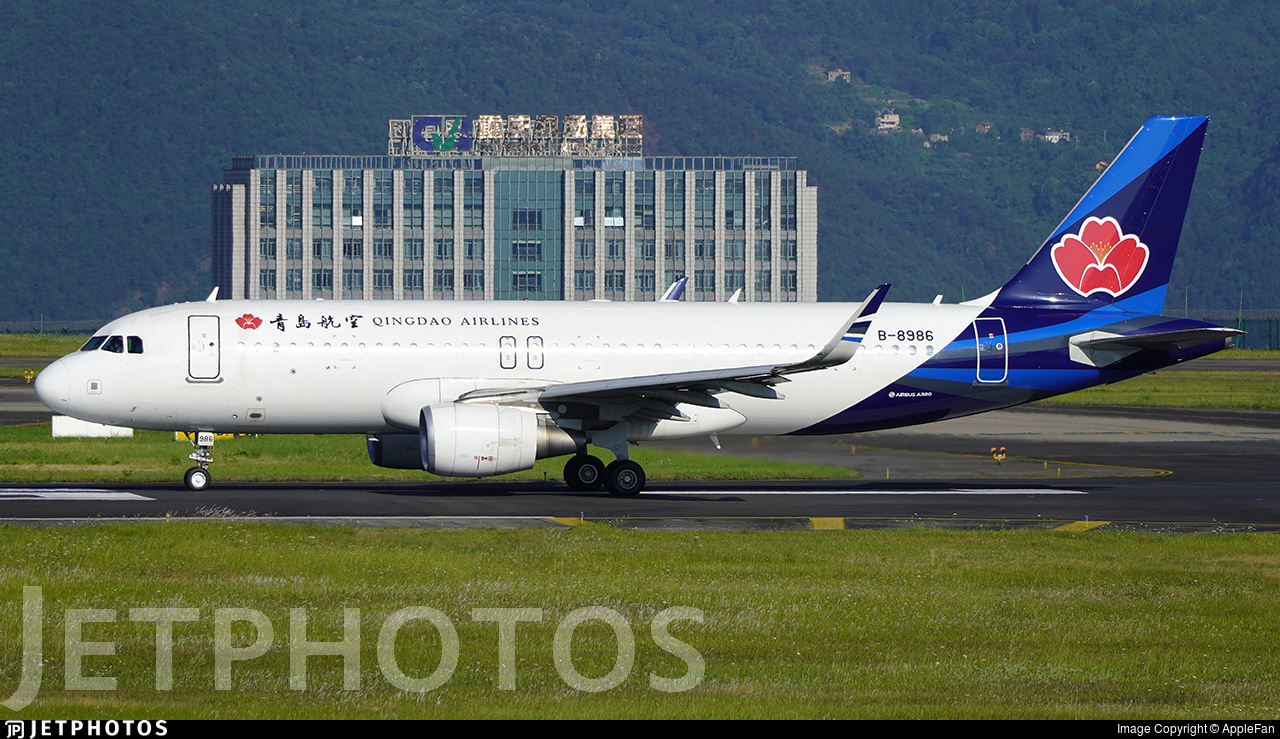 B-8986 - Airbus A320-214 - Qingdao Airlines