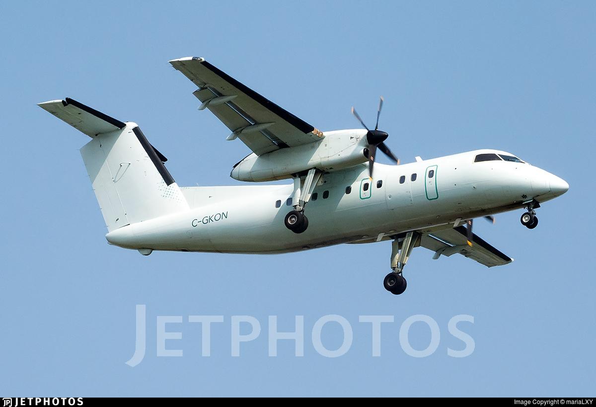 C-GKON - Bombardier Dash 8-102 - Voyageur Airways