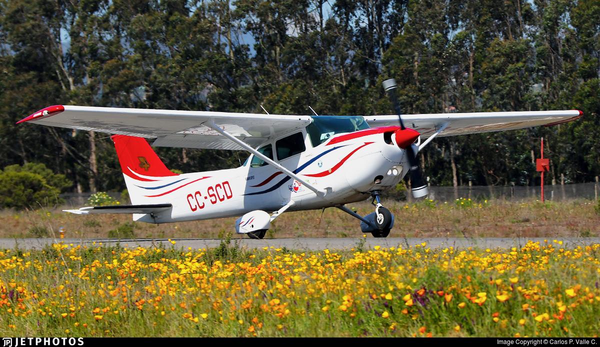 CC-SCD - Cessna R172K Hawk XP - Aero Club - Concepción