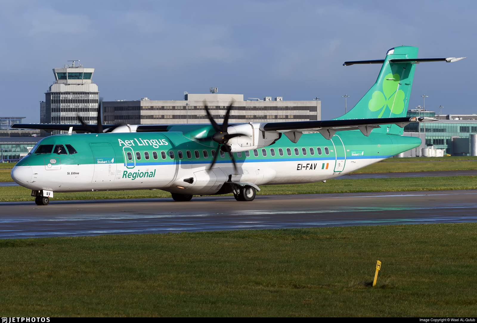 EI-FAV - ATR 72-212A(600) - Aer Lingus Regional (Stobart Air)