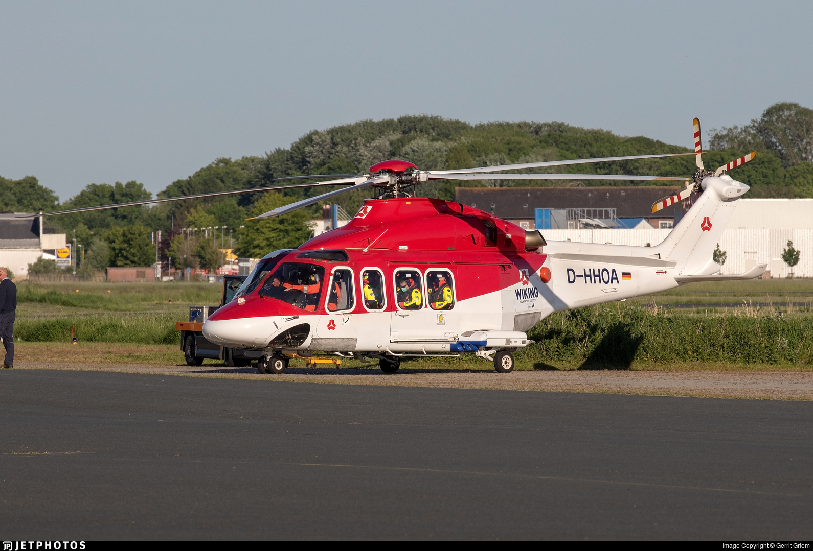 D-HHOA - Agusta-Bell AB-139 - WIKING Helikopter Service